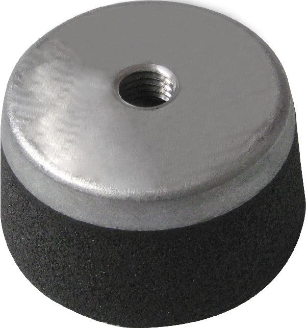 Menetes, kúpos fazék alakú kőhöz kicsi