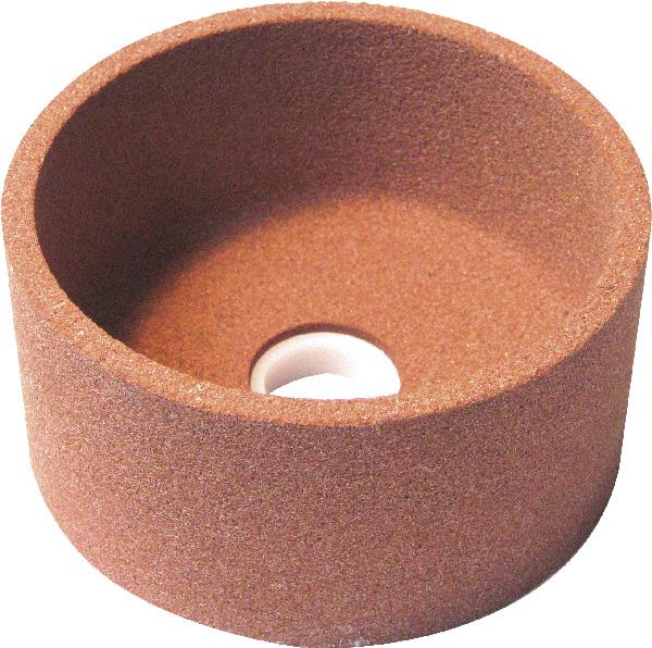 Fazék alakú kerámia kötésű köszörűkorong